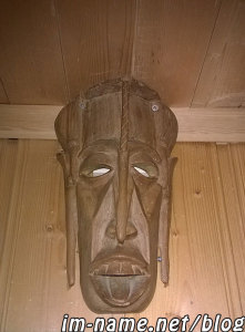 wooden mask guy 1
