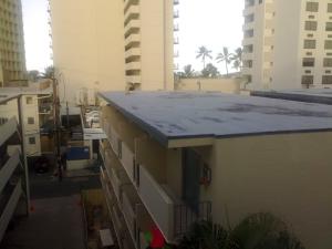 Hotellutsikt Waikiki