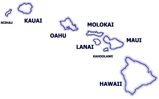 Hawaii state map (hicentral.com)
